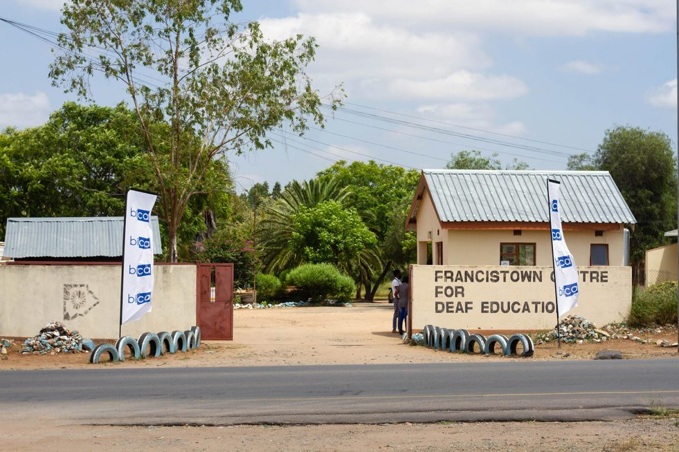 BICA Adopts Francistown Center for The Deaf For 3 Years