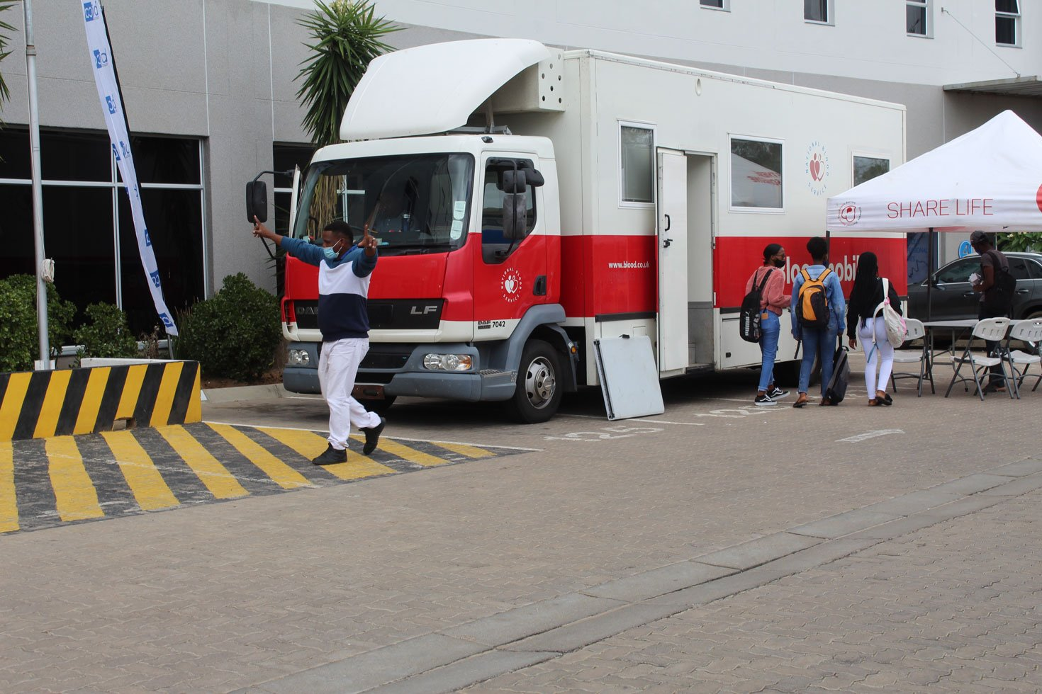 BICA Conducts A Blood Donation Drive